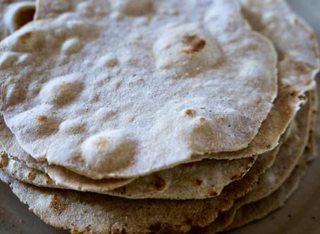 Indian Chapati Flatbread