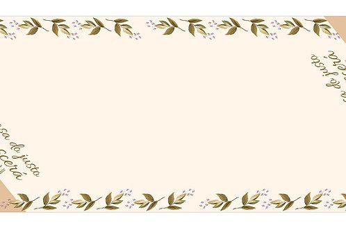 Caminho de Mesa Propósito Florescer Pv14:11
