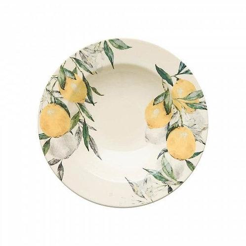 Prato Fundo Aquarelle Lemon