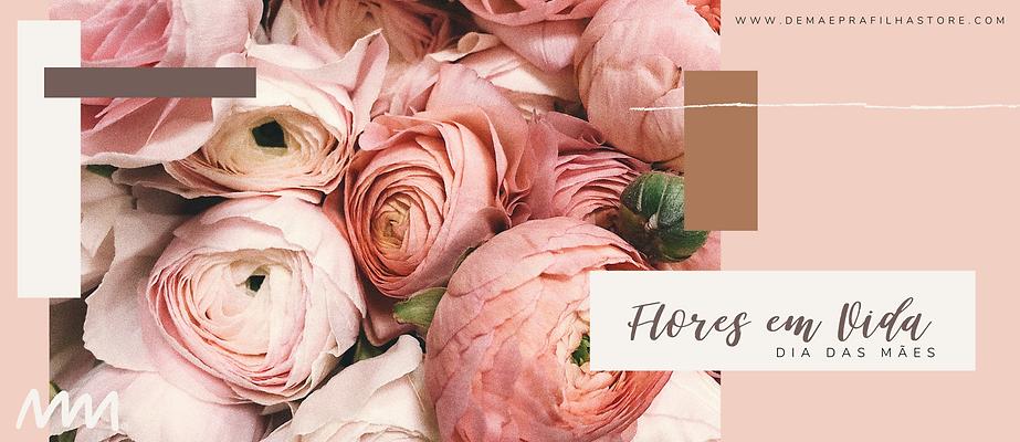 Post Rosa e Marrom de Dia das Mães para