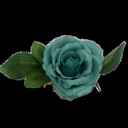 Argola de Guardanapo Rosa Turquesa