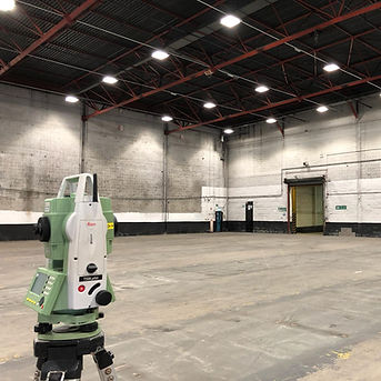 MobileCAD surveying Commerical Warehouse