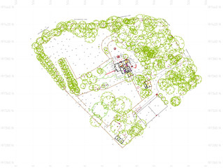 Large Residential Topographical Survey