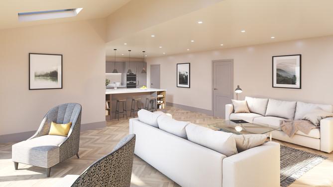 Living - Kitchen