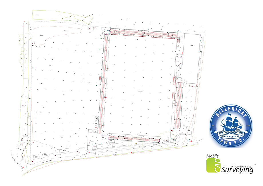 MobileCAD - Billericay Town FC Site Plan