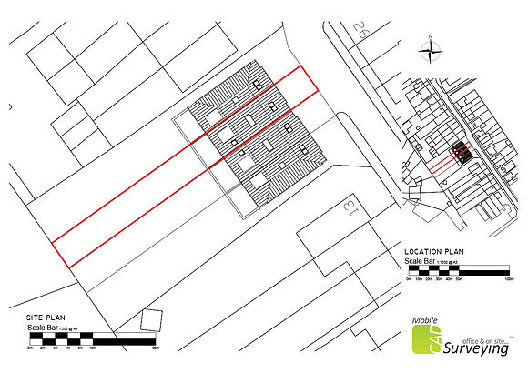 MobileCAD produce Lease Plan drawings on a regular basis whether they require a site visit or not