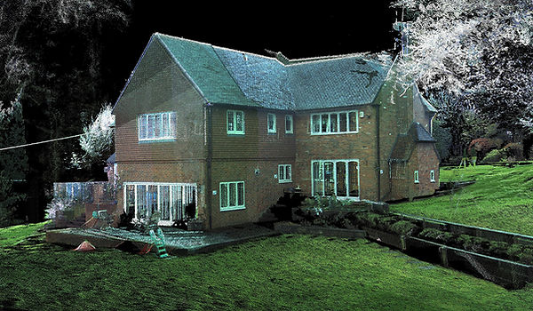 Examples of Pointcloud of Residential Property from MobileCAD