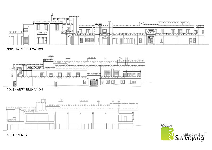 MobileCAD - Wentworth Club House Elevations