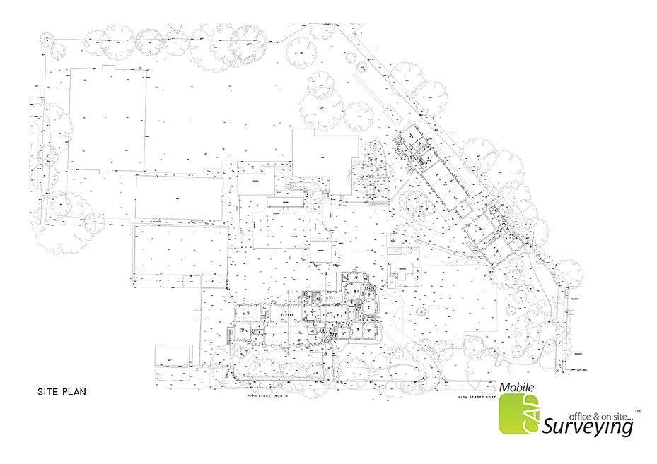 MobileCAD - Ashton Middle School Site Plan