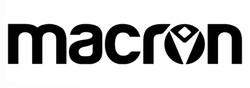 macron logo bianco