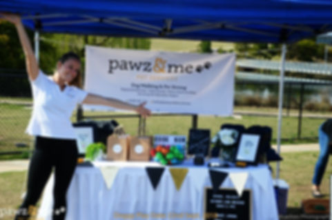 Emily at thePawz & Me Event Stall