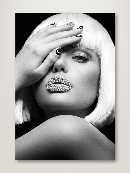 Diamond Lips BW