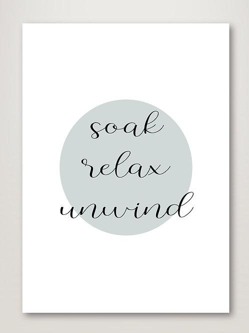 Soak Relax Unwind