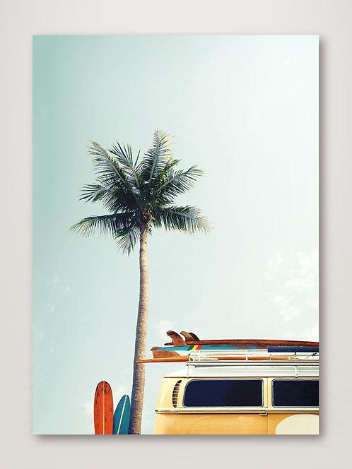 Surf Bus Yellow