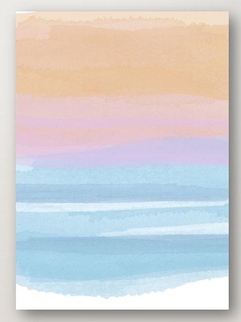 Sunset Sea No.1