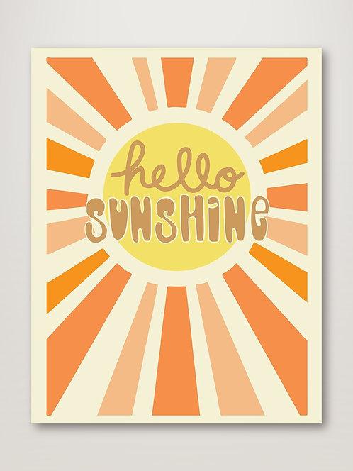 Hello Sunshine Retro