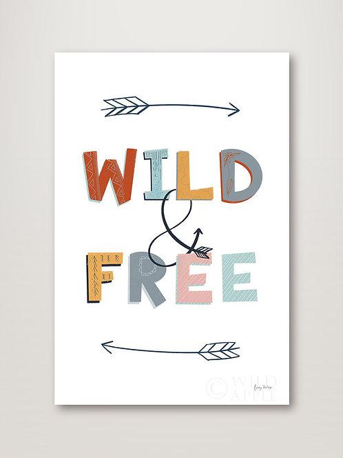 Wild and Free Pastel