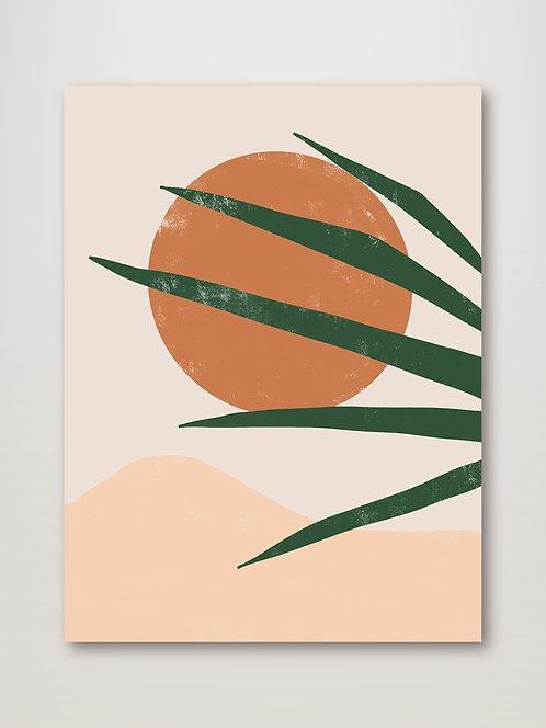Sun Baked Poster