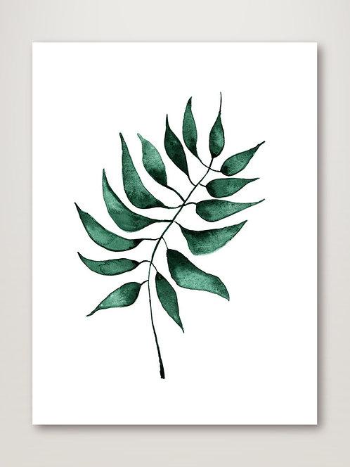 Oak Green Poster