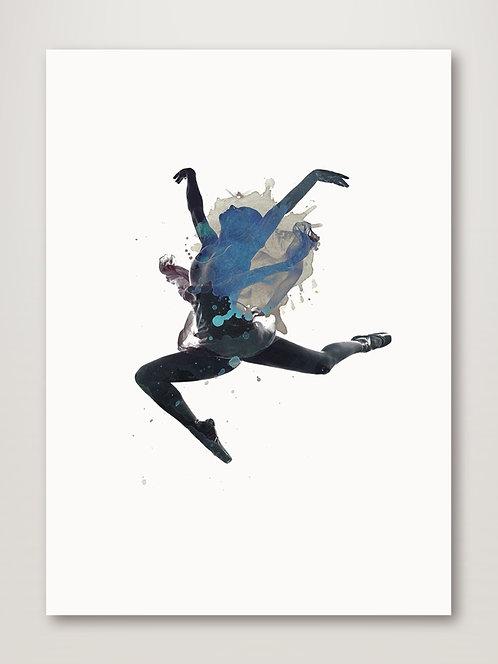Ballerina Floating