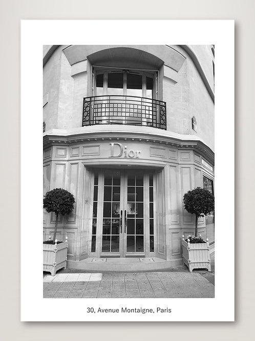 Dior, Avenue Montaigne