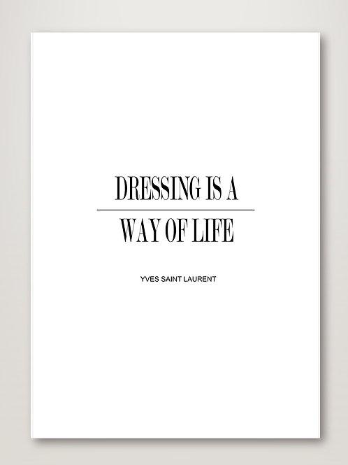 Dressing YSL