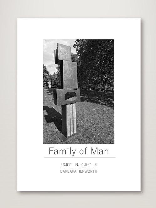 Family of Man - Barbara Hepworth