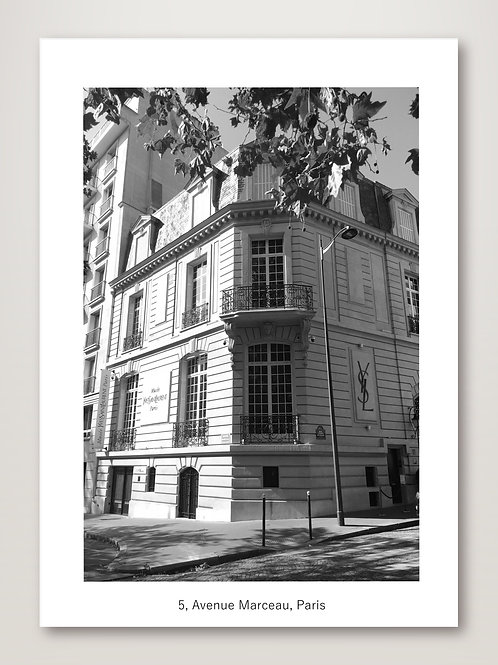 YSL, Avenue Marceau