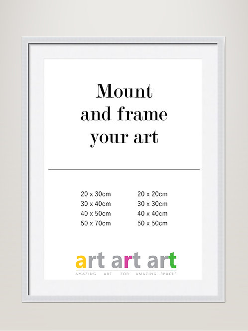 Mount and Silver Frame