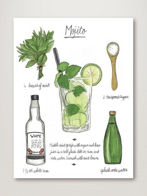 Classic Cocktail - Mojito