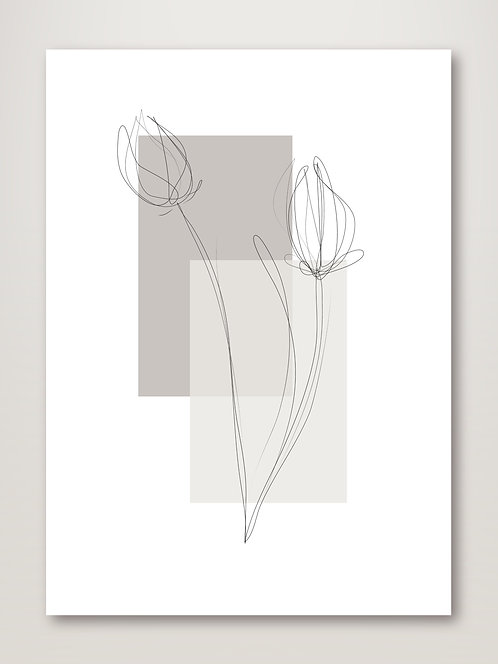 Geometric Flower No.2