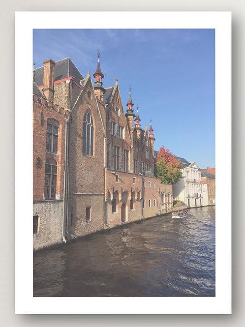Boat in Bruges