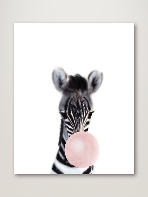 Baby Zebra Bubble Gum