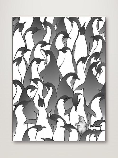 Penguin Family I