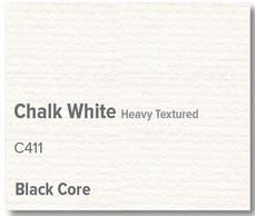 Chalk White Black Core - C411
