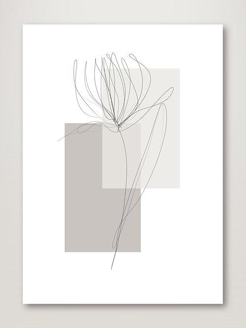 Geometric Flower No.1