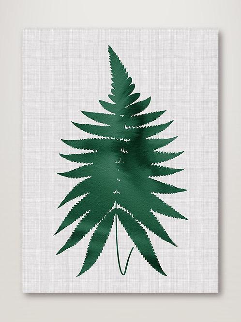 Fern Green Poster