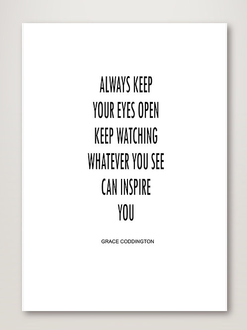 Whatever You See
