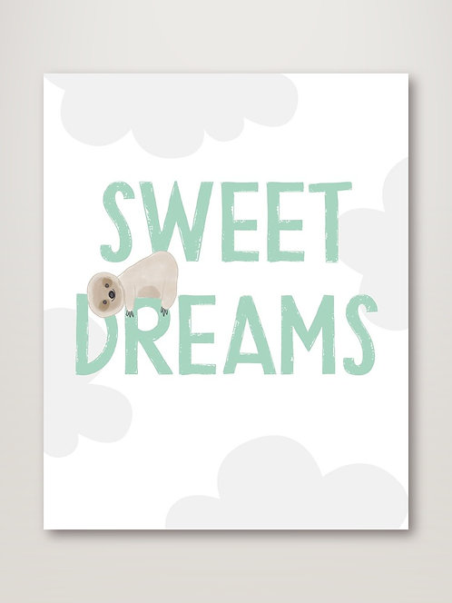 Sweet Dreams Sloth