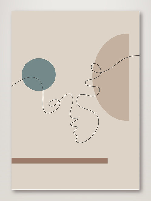 Shapes and Faces No.2