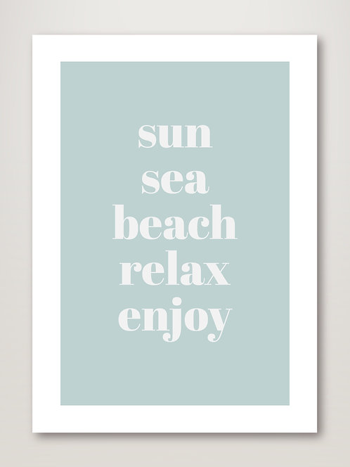 Relax, Enjoy