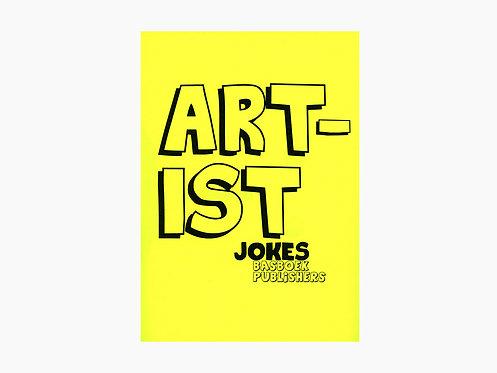 Bas Fontein - Artist Jokes / Kunstenaarsmoppen