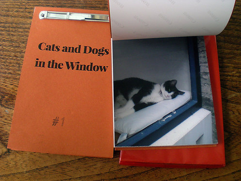 Chantal Rens - Cats and Dogs in the Window #1