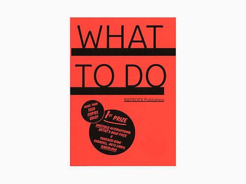 Bas Fontein - WHAT TO DO / WAT TE DOEN