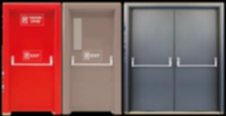 Yangın Kapıları, Paslanmaz Krom Yangın Söndürme Cihazları