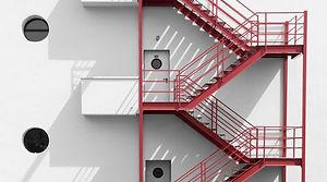 Yangın Merdiveni, Paslanmaz Krom Yangın Söndürme Cihazları
