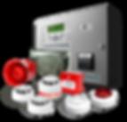 Yangın Alarm Sistemleri Sensörleri, Paslanmaz Krom Yangın Söndürme Cihazları