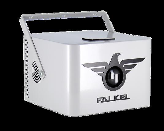 Beyaz White Falkel Gobo Projector GoboJector Logo Yansıt