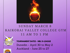 NBL Women D-League U19 Otago Women Trials