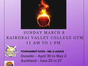 NBL Women D-League U19 Otago Women Trials